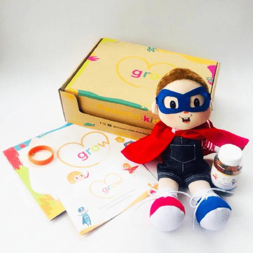 Niño Cabello Rubio - Grow Powerful Kids Box